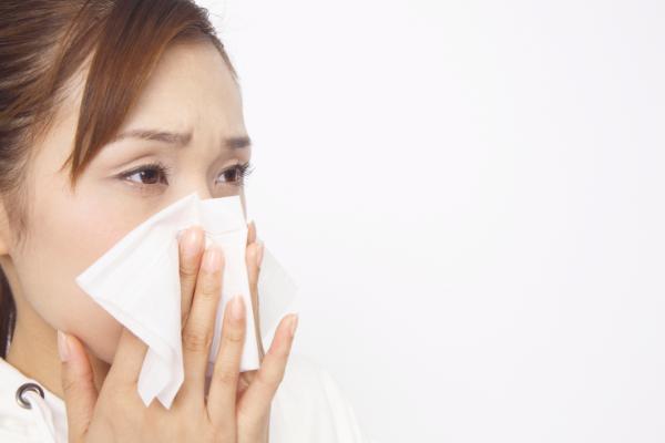 花粉症による皮膚炎について